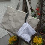 Snappap Tasche nähen mit Futter und Innentasche fuer den grossen Einkauf