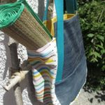 Naehanleitung für eine Sommertasche Jeans-Upcycling made-in-minga.de