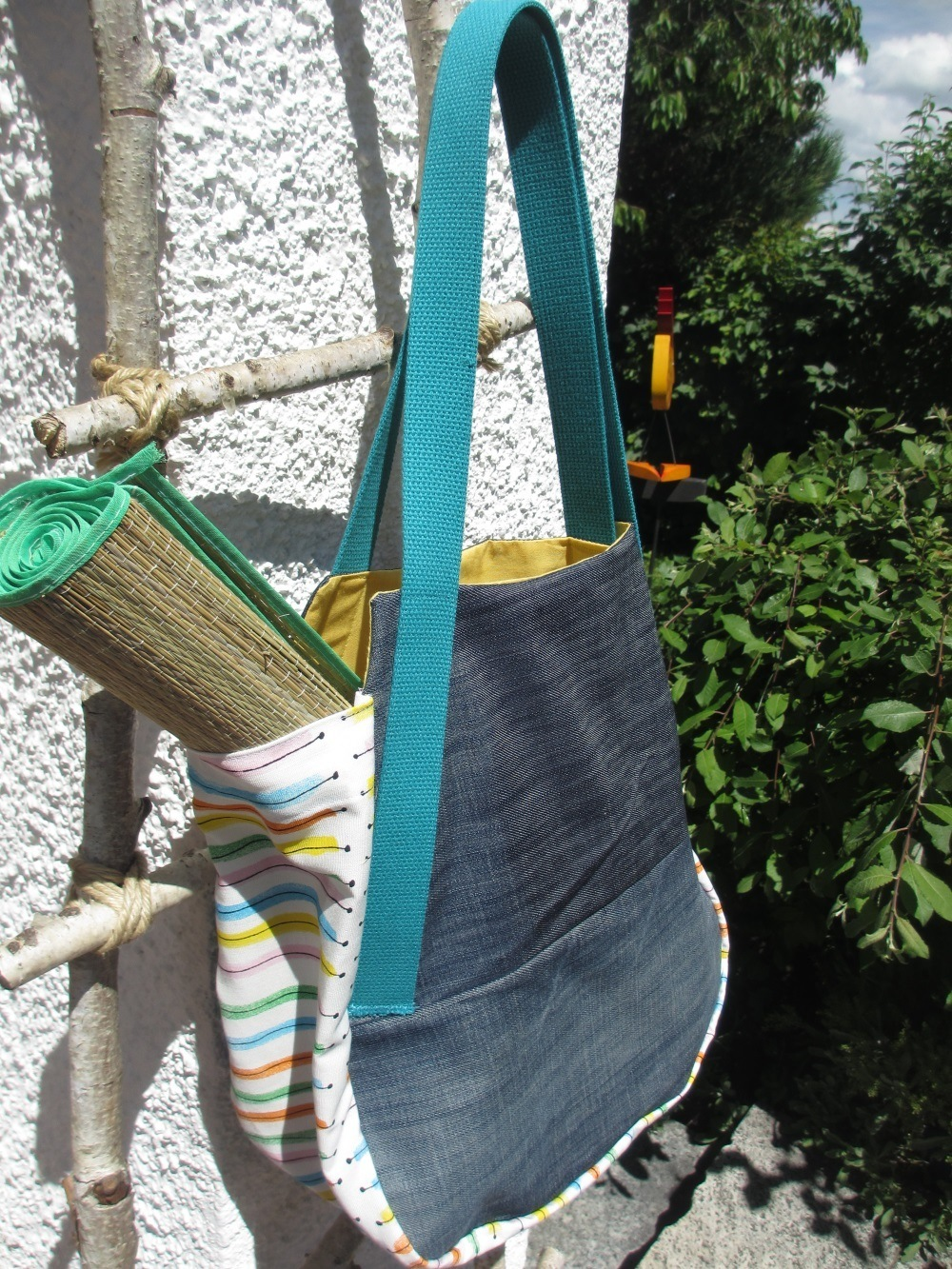 Jeans-Upcycling-Sommertasche-14