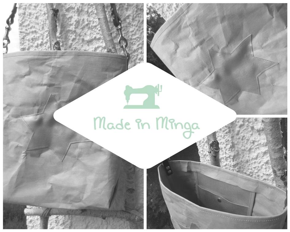 Snappap Tasche nähen mit Origami-Ecken