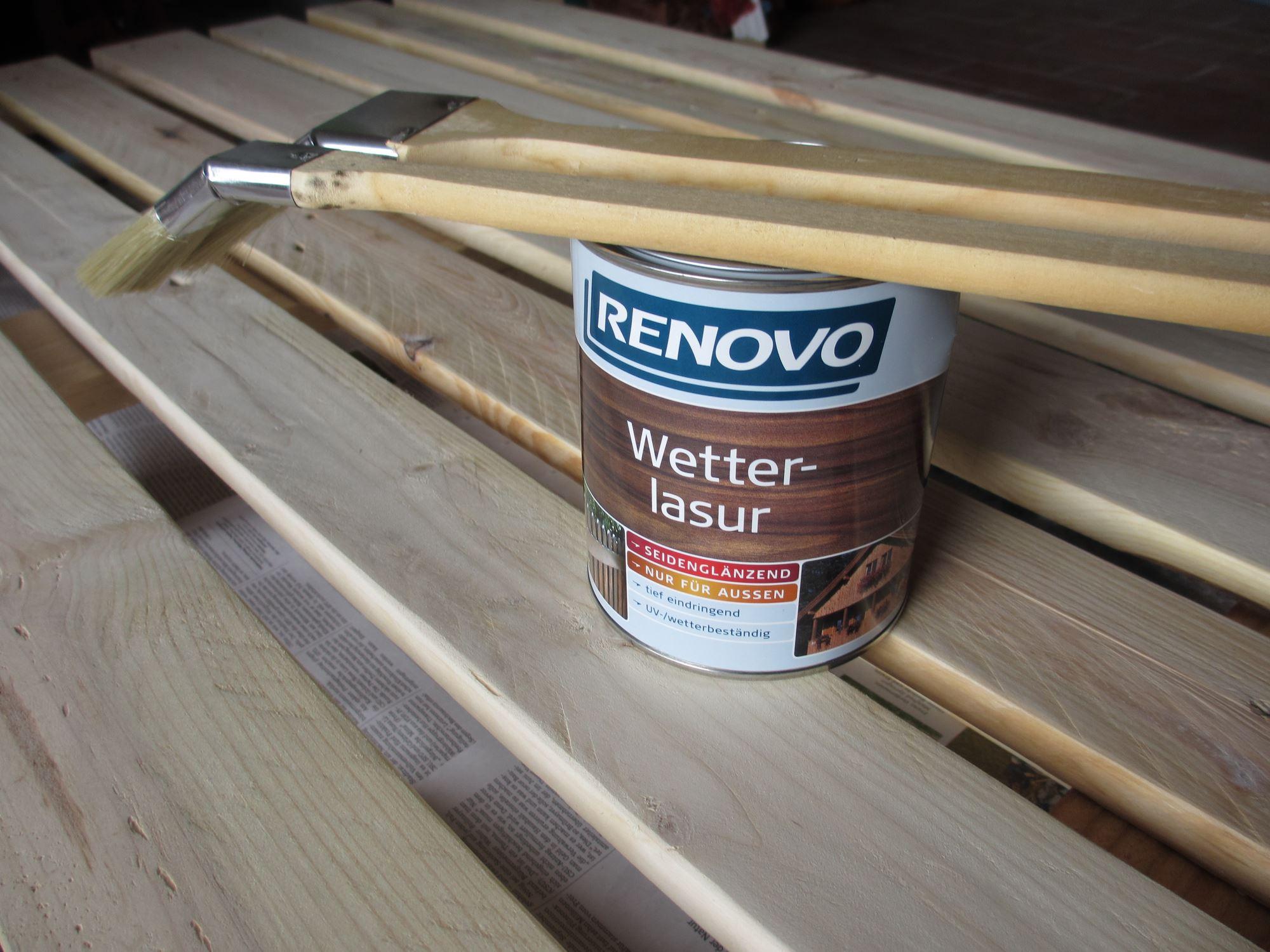 Palette-Regal-lasieren