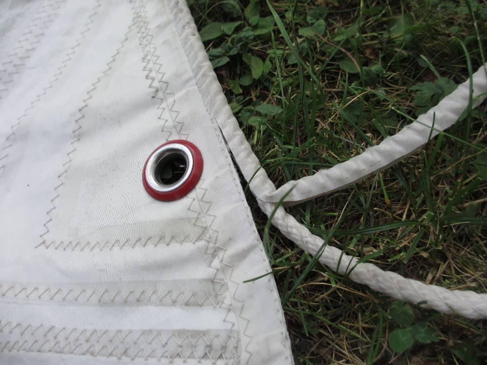 Seesack mit dem original Segelseil als Träger