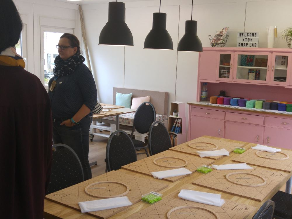 Da liegen sie für uns bereit, die neuen Snaply Weaving Boards