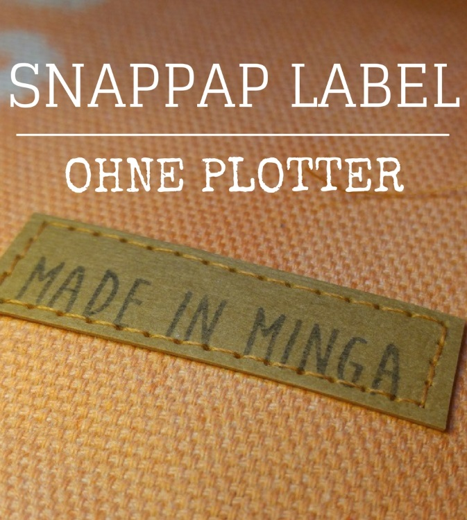 snappap label ohne Plotter