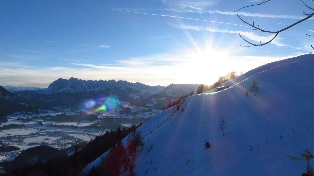 Bergpanorama im Kaiserwinkl