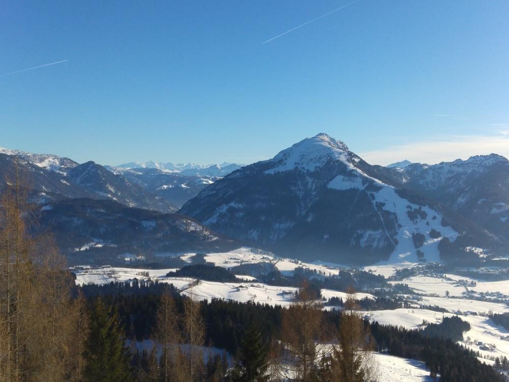 Panoramablick von der Taubenseehütte