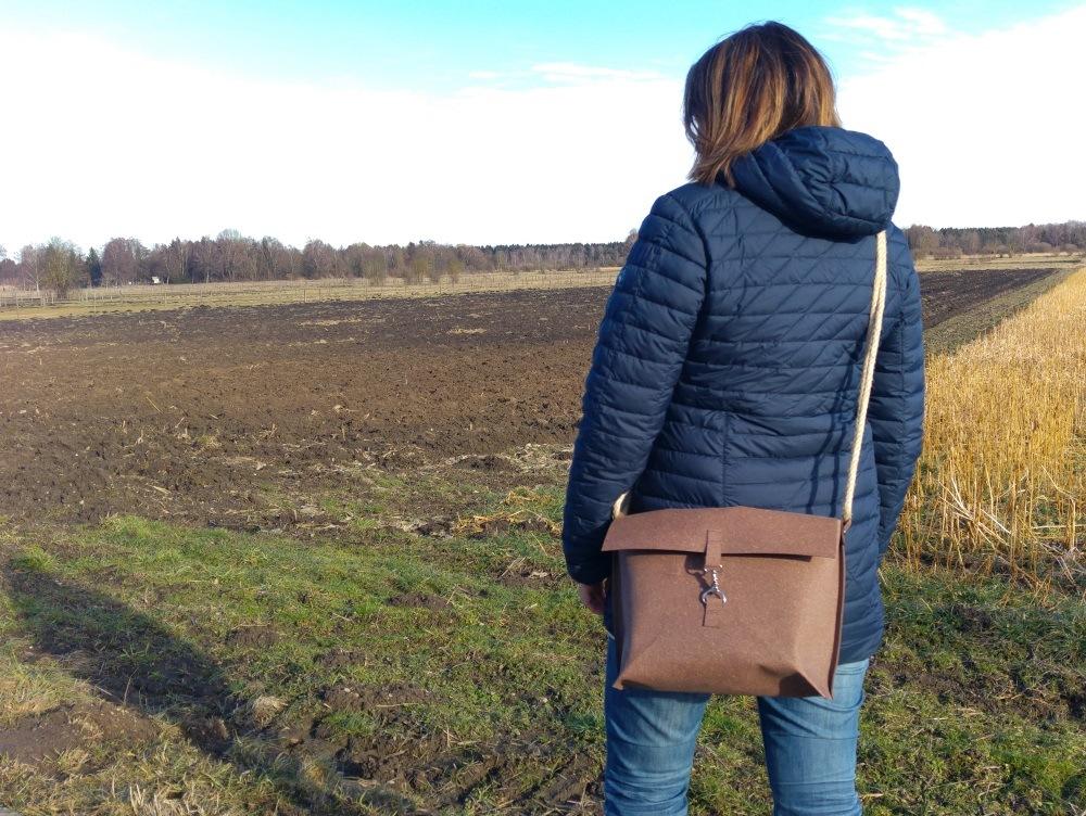 ReLeda Tasche in ihrem ersten Einsatz
