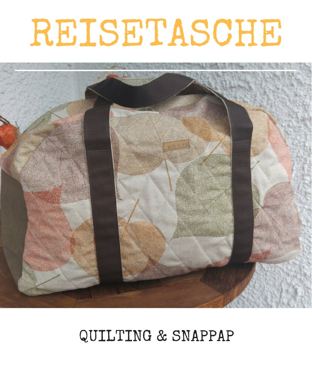 Reisetasche nähen und quilten