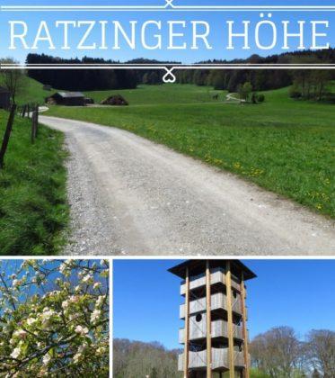 Auslfug - kleine Wanderung zur Ratzinger Höhe bei Rimsting