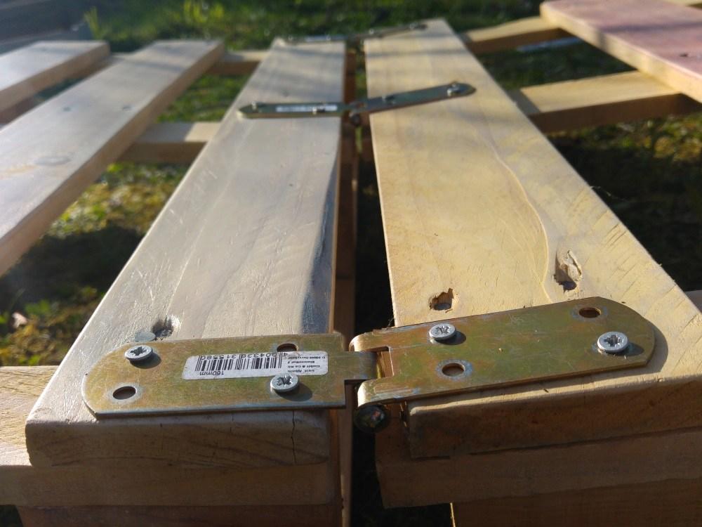 Super Palettenmöbel selber bauen - Liege | &KO_95