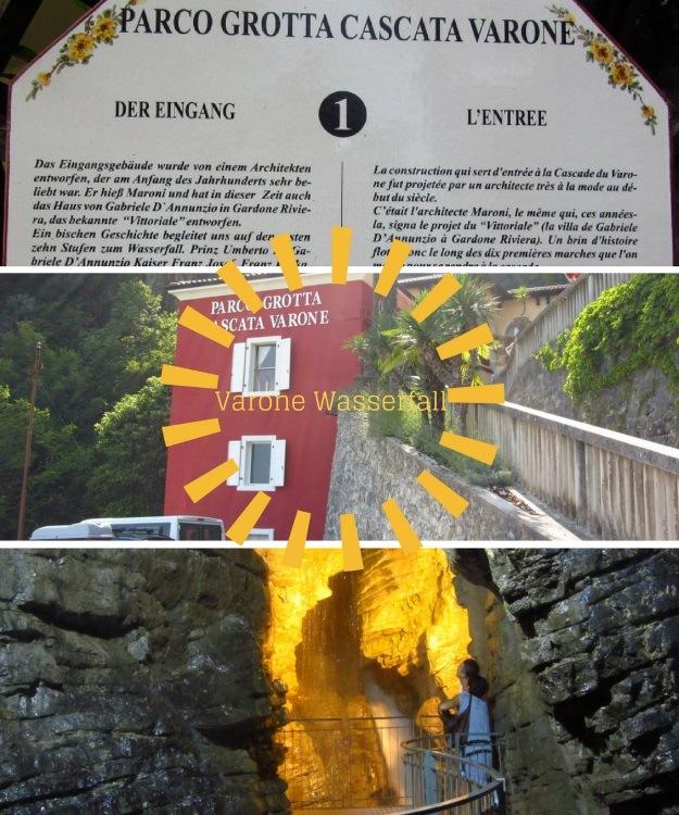 Wasserfälle von Varone - ein Besuch lohnt sich bei Sonne und Regen am Gardasee