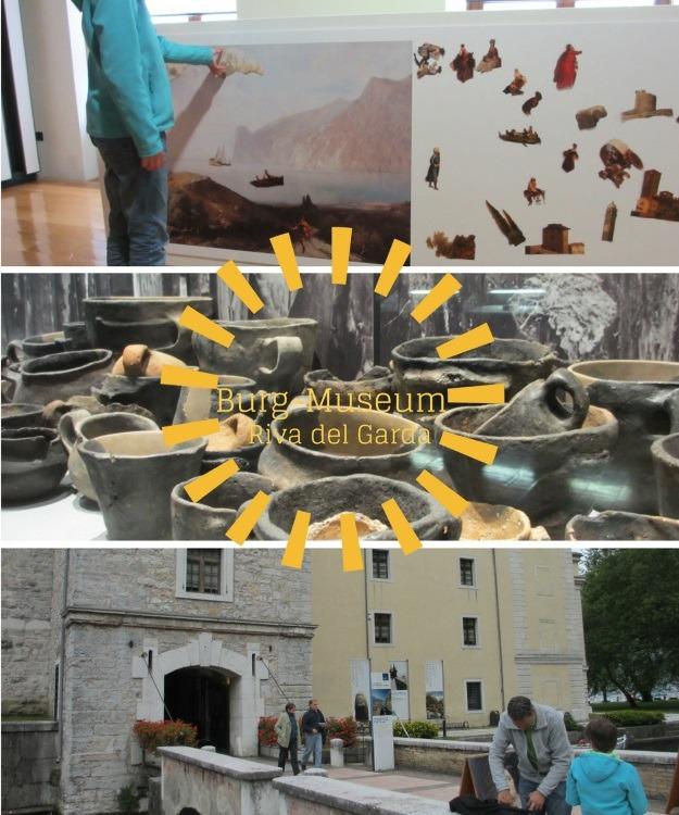 Riva del Garda mit der Burg Rocca. Bietet Museum und wechselnde Fotoausstellungen