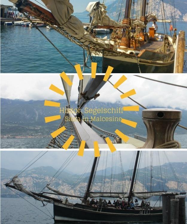 Fahren mit einem historischen Segelschiff ab Malcesine