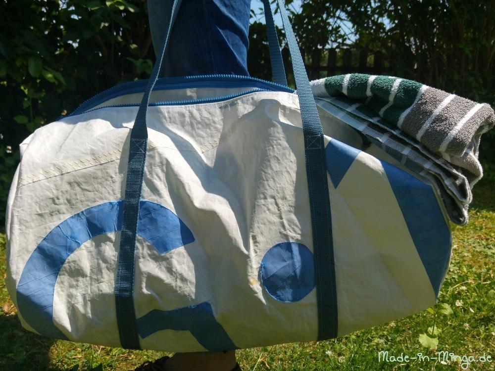 Fertige Duffelbag Sporttasche