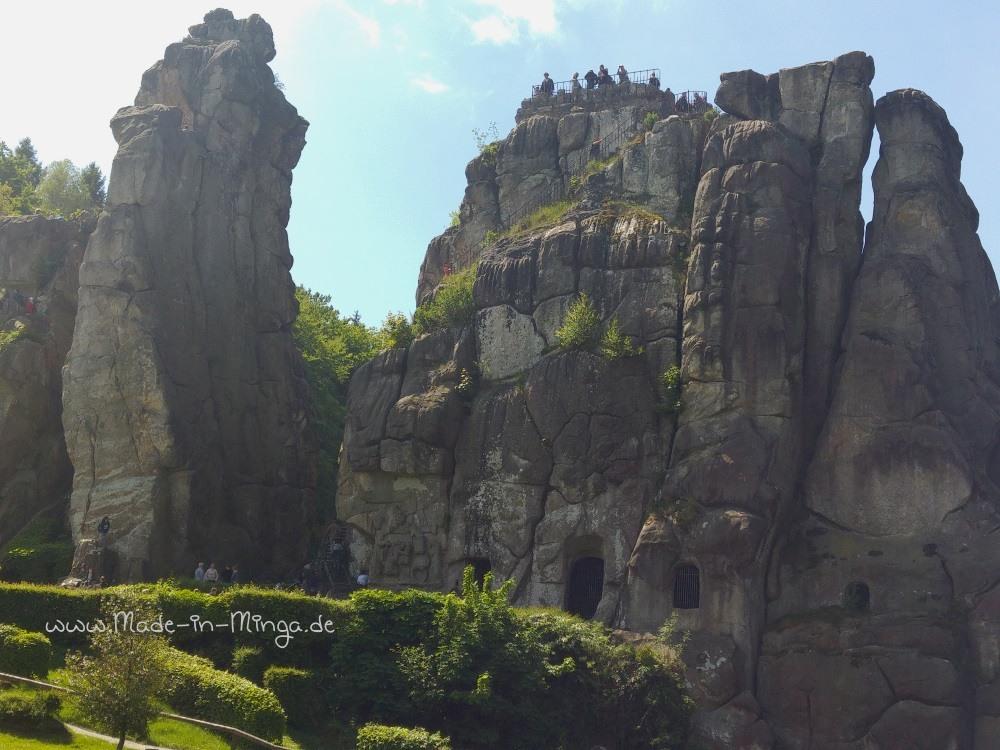Grottenfelsen der Externsteine