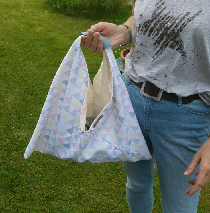 Origami Bag Tutorial