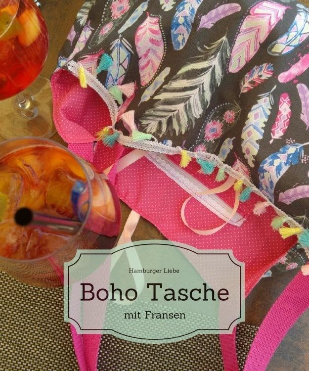 sommerliche Boho-Tasche nähen