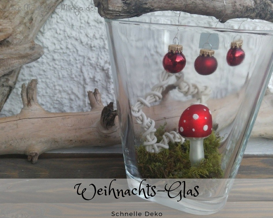 Weihnachtliche Deko selber basteln