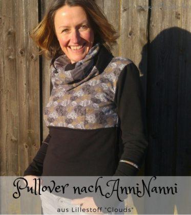 Pullover genäht nach Anninanni Schnittmuster