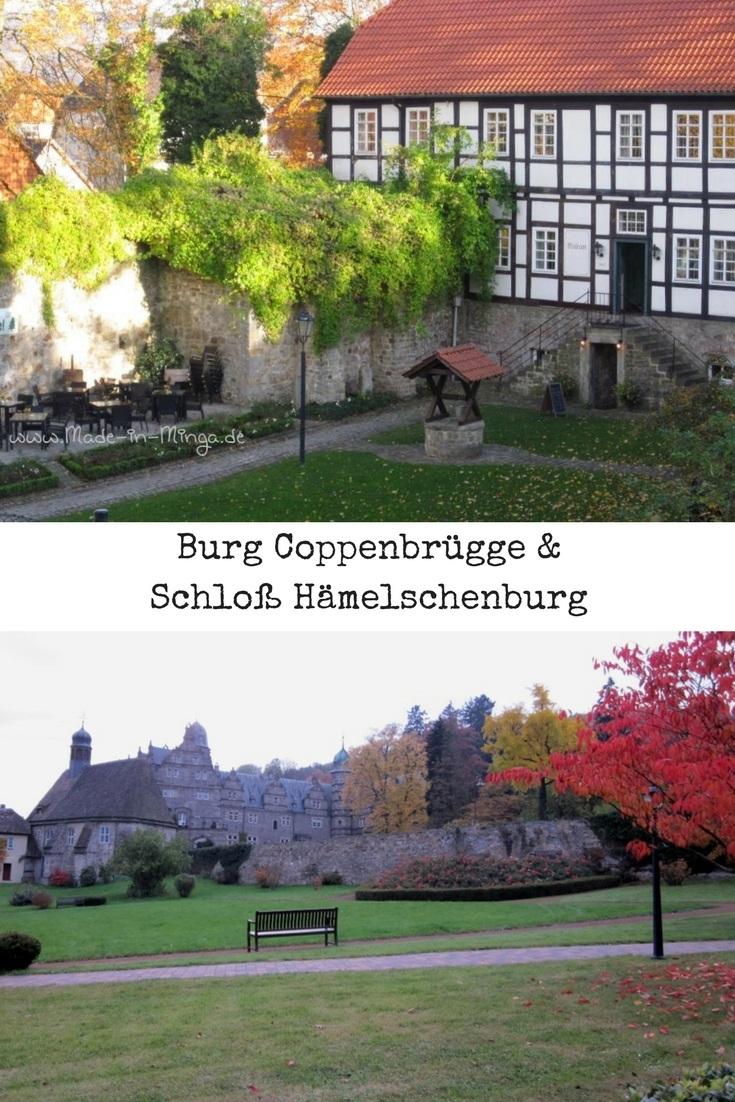 Wasserburgen Coppenbrügge und Hämelschenburg in Niedersachsen