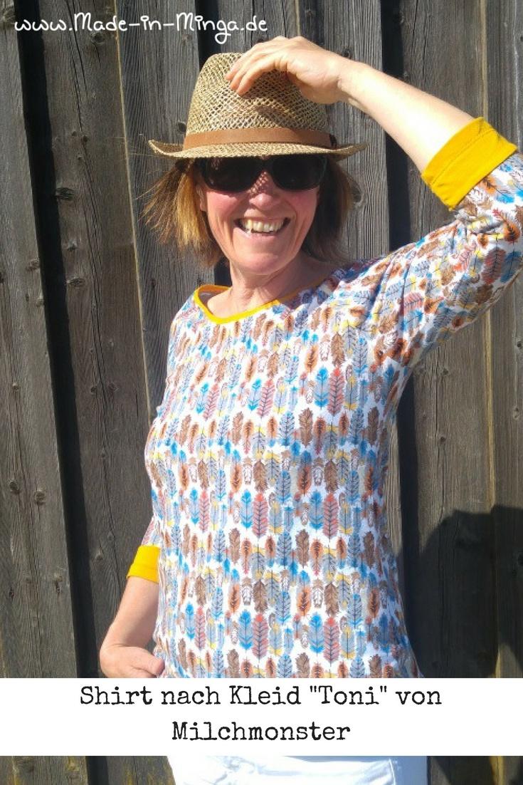 Toni von Milchmonster als Shirt nähen