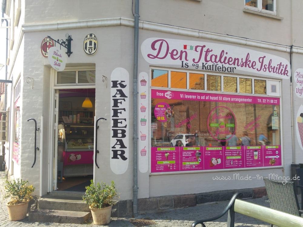 Eisladen in Kerteminde