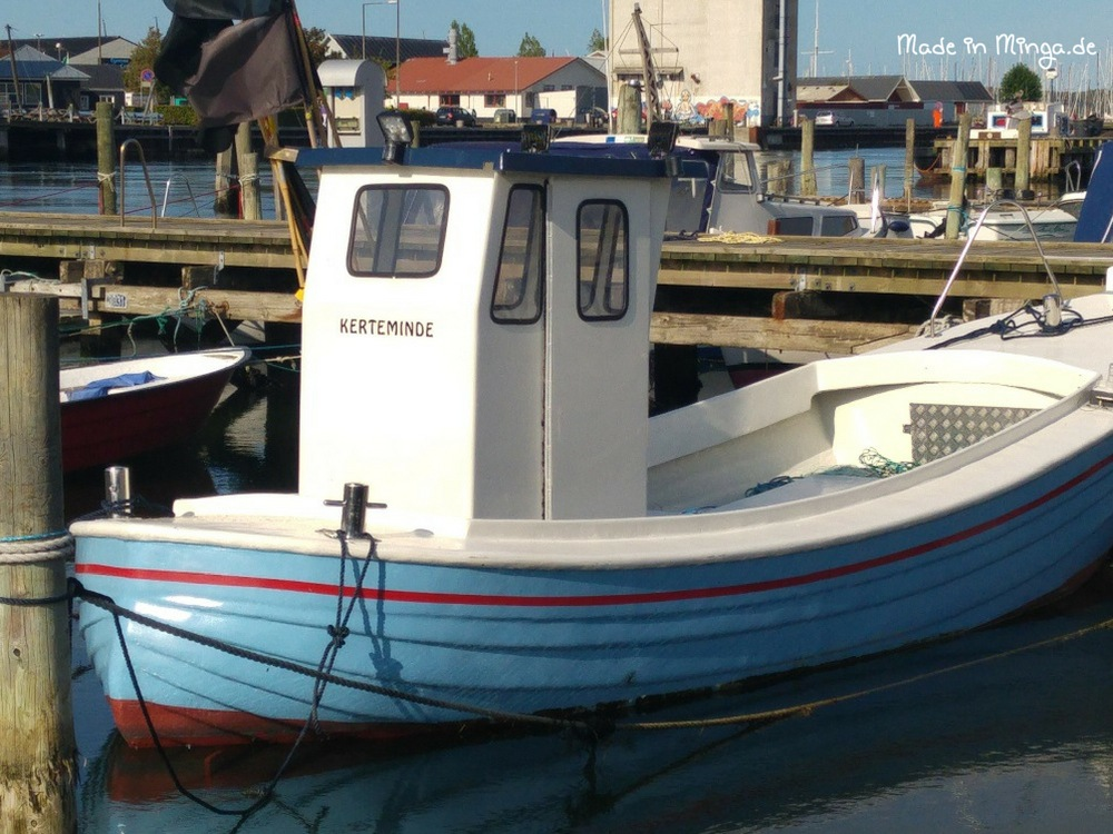 Fischerboot in Kerteminde Hafen