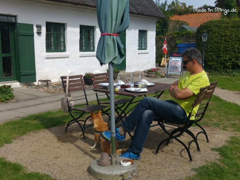 Kirkeladen in Mesinge mit Garten
