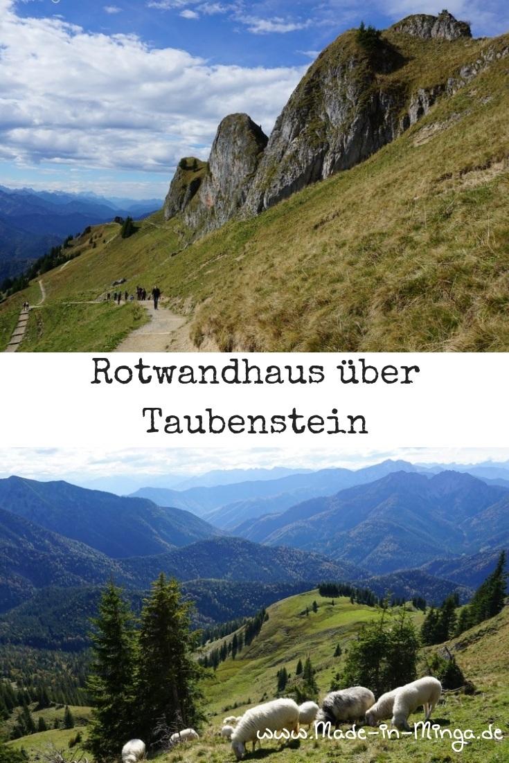 Wandern von der Taubenstein Bergstation zur Rotwand