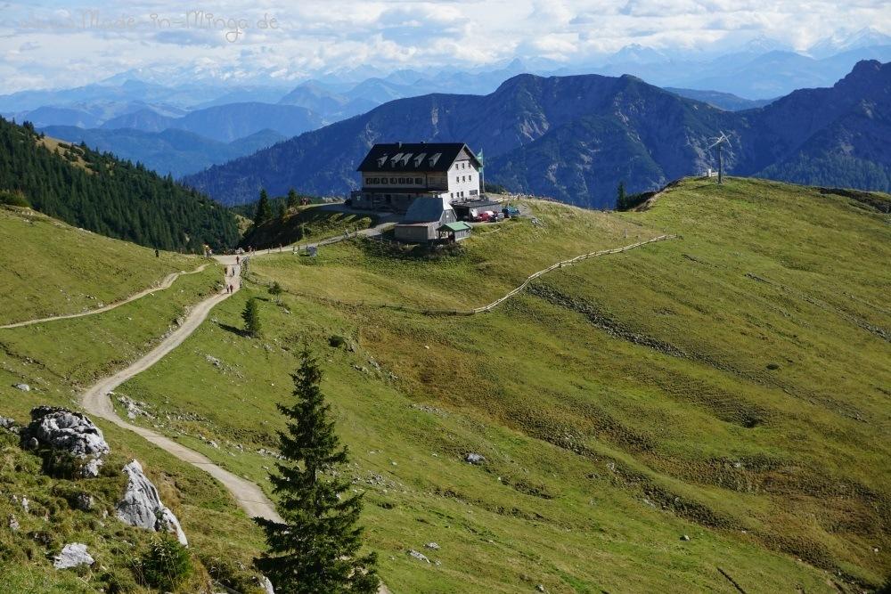 Wandern vom Taubenstein zum Rotwandhaus