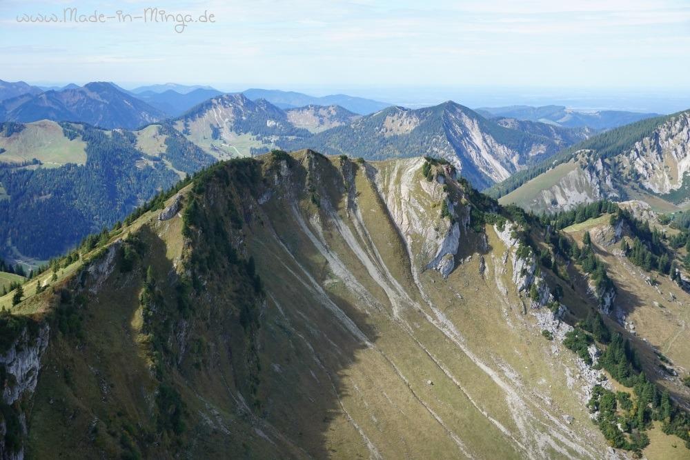 Fernsicht vom Gipfel der Rotwand