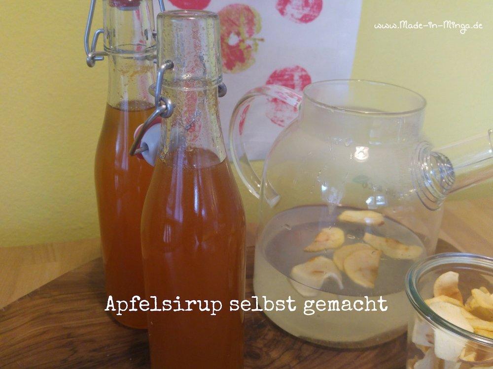 Apfelsiurp aus der Apfelernte vom eigenen Baum