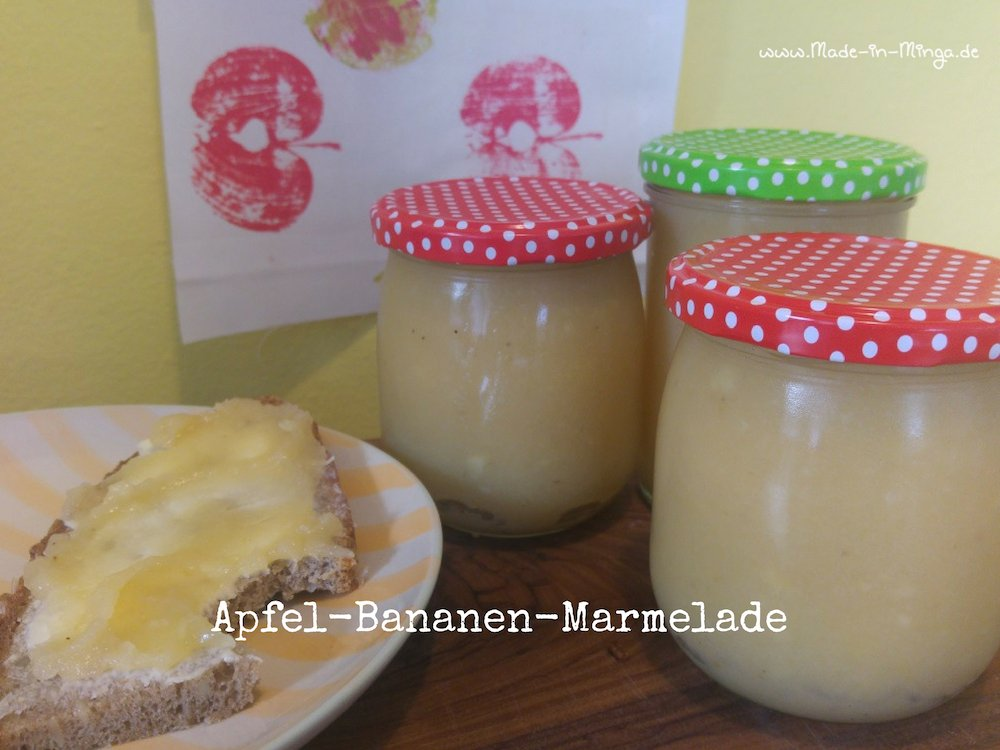 selbstgekochte Marmelade ist super auf dem Butterbrot