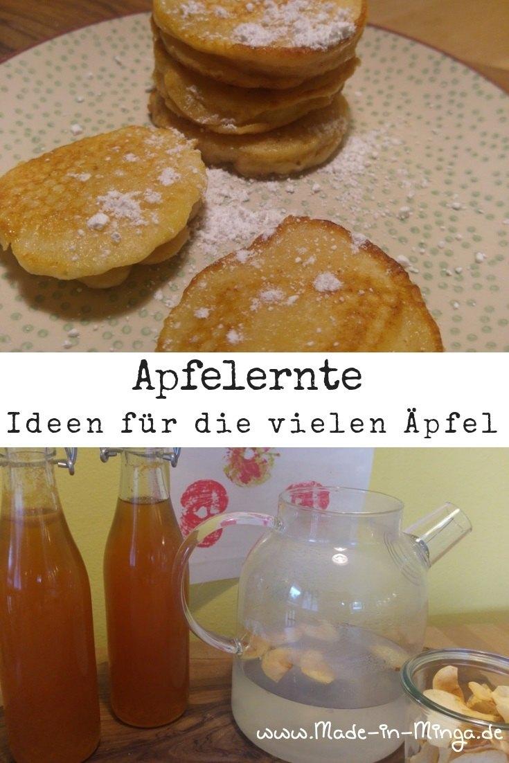 Ideen für Äpfel im Herbst. Ideen zur Apfelernte