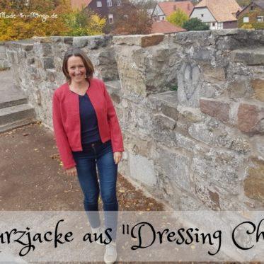 Kurze Jacke aus dem Buch Dressing Chic