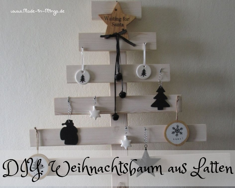 weihnachtsbaum aus holzlatten selber machen. Black Bedroom Furniture Sets. Home Design Ideas
