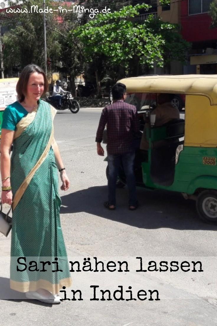 Saris gehören in Indien zum alltäglichen Strassenbild