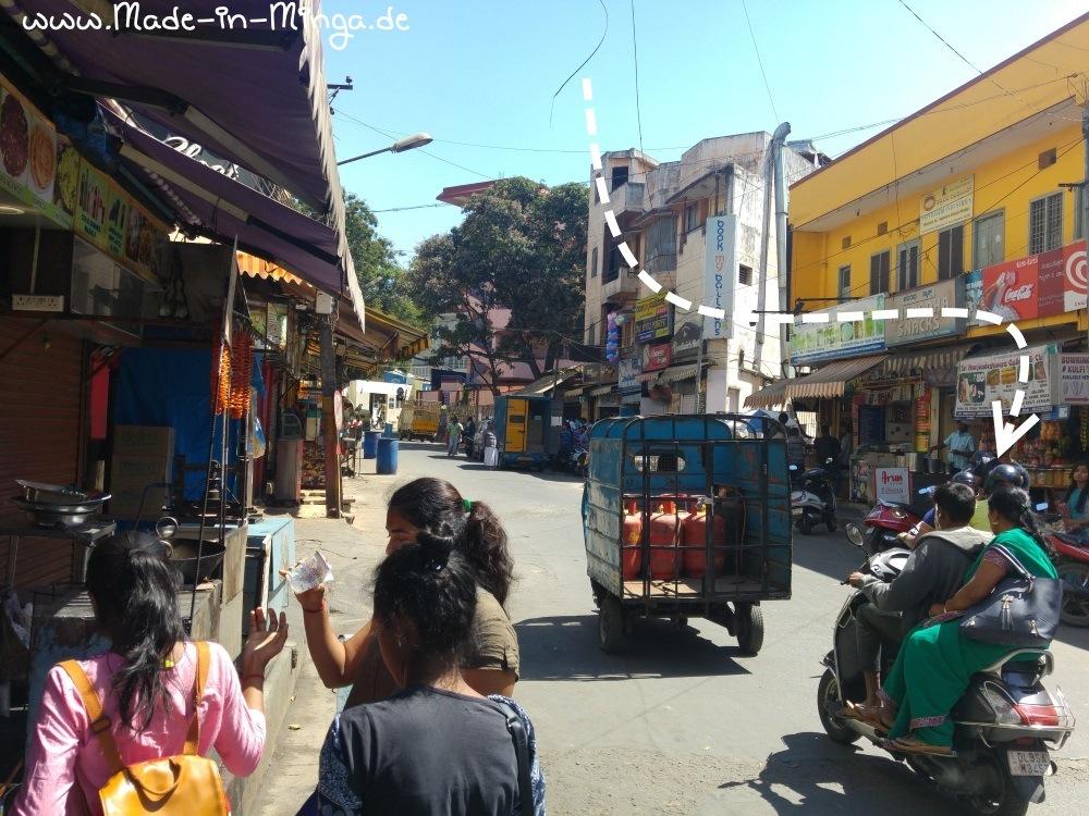 Strassenleben in Bangaluru