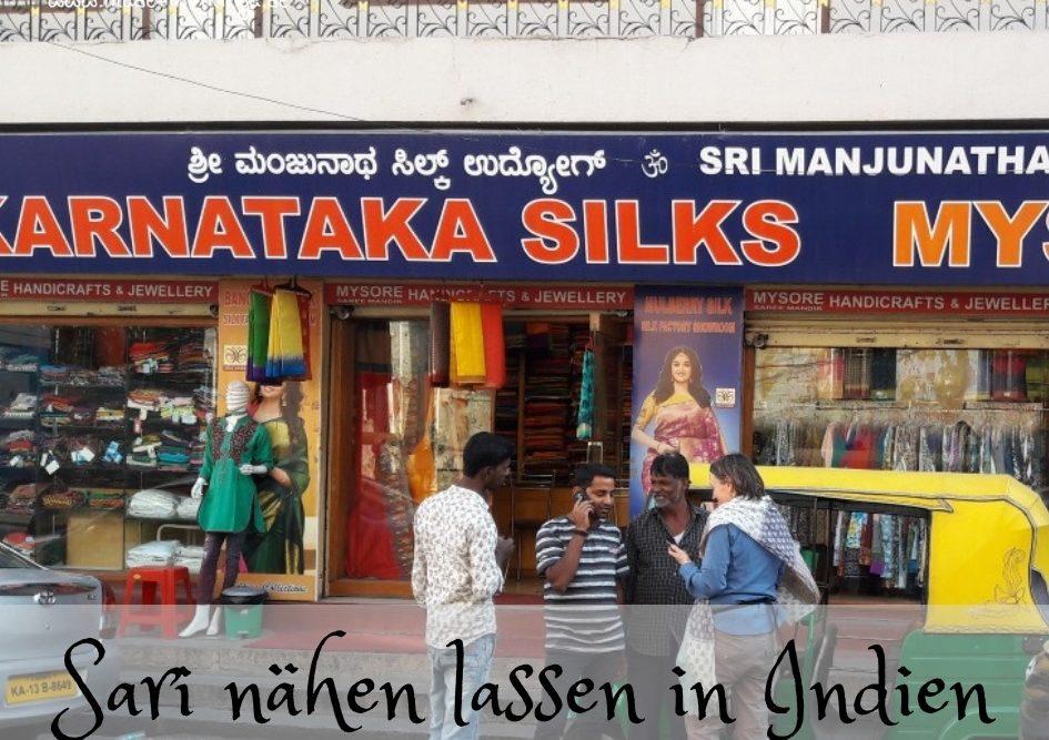 Seidenfabrik und Verkauf in Bangalore