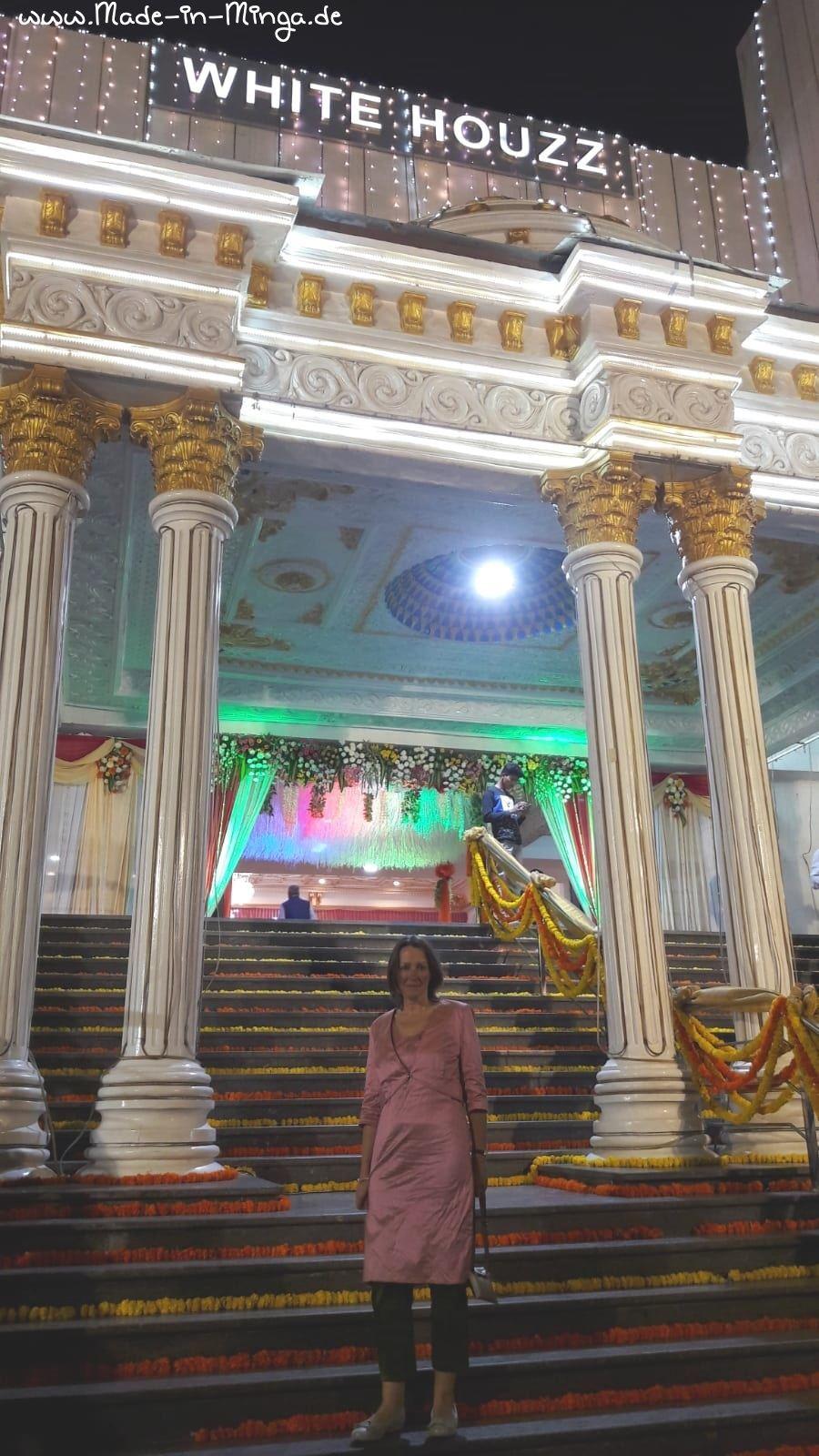 Seidenkleid nähen - Kameez für indische Hochzeit