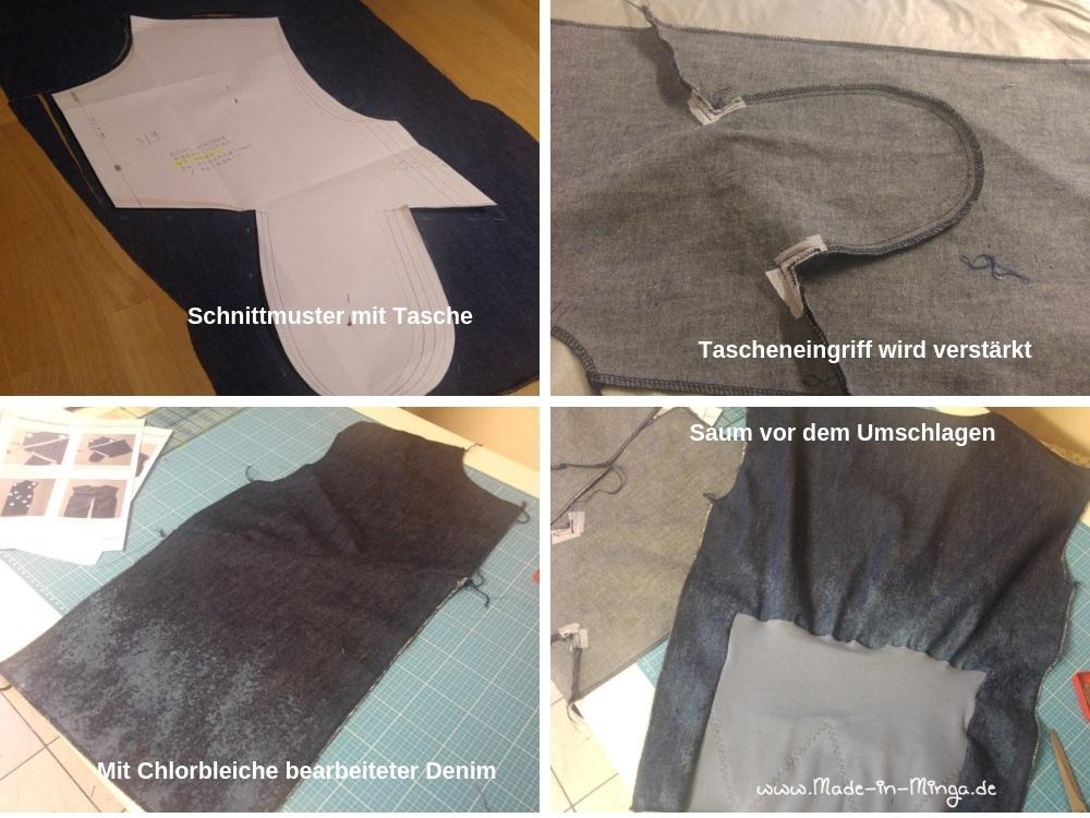verschiedene Ansichten beim Nähen von Addalinchen - www.made.in.minga.de