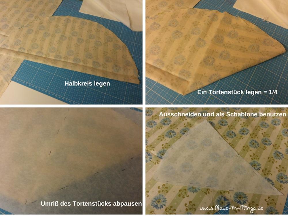 Für das Vorderteil eine Schablone herstellen - Nähen mit made-in-minga.de
