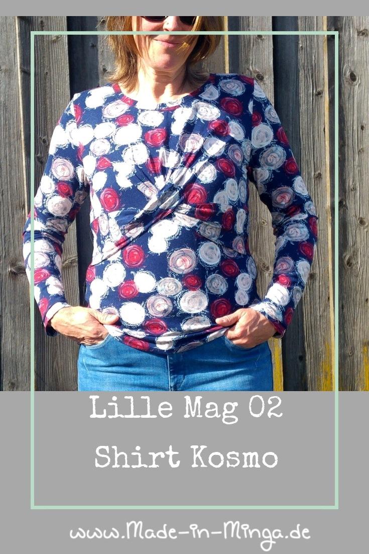 Shirt Kosmo  von Lillestoff- www.made-in-minga.de