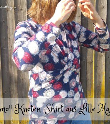 Shirt Kosmo vom Lillestoff Magazin nähen