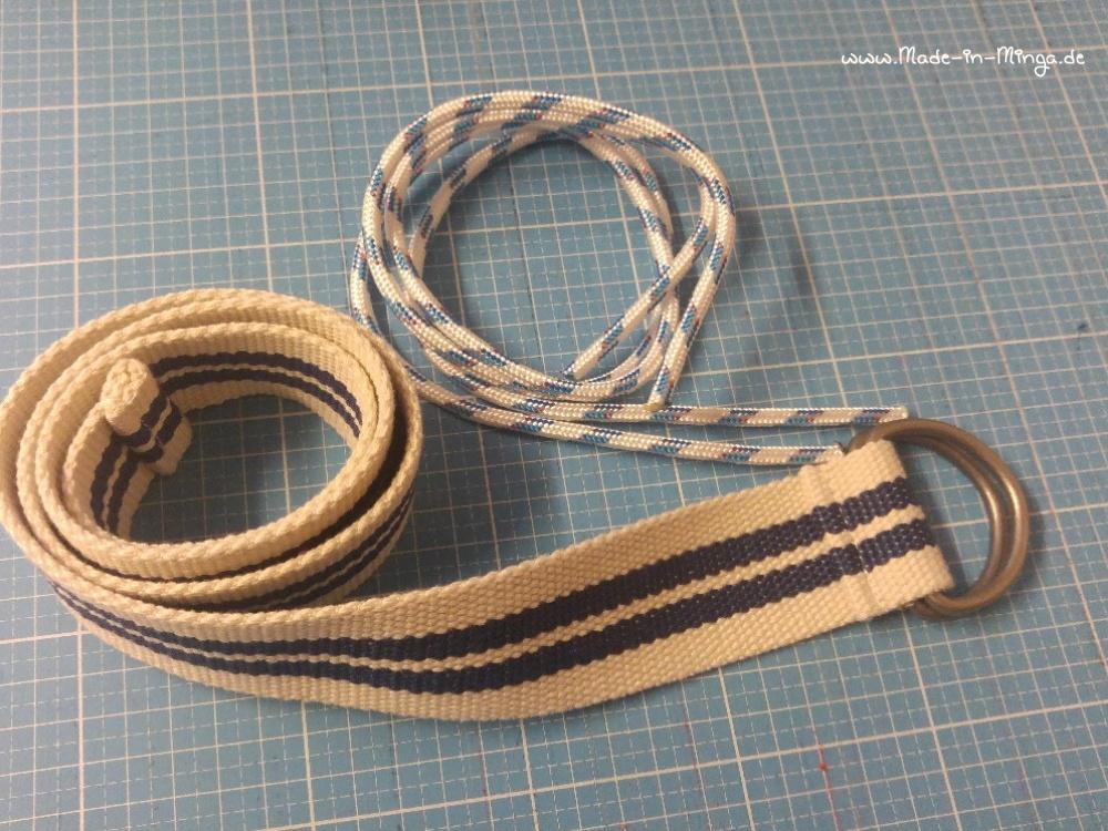 Kordel und Gurtband als Taschenträger - made-in-minga.de