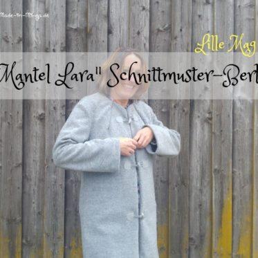 Mantel Lara von Schnittmuster Berlin