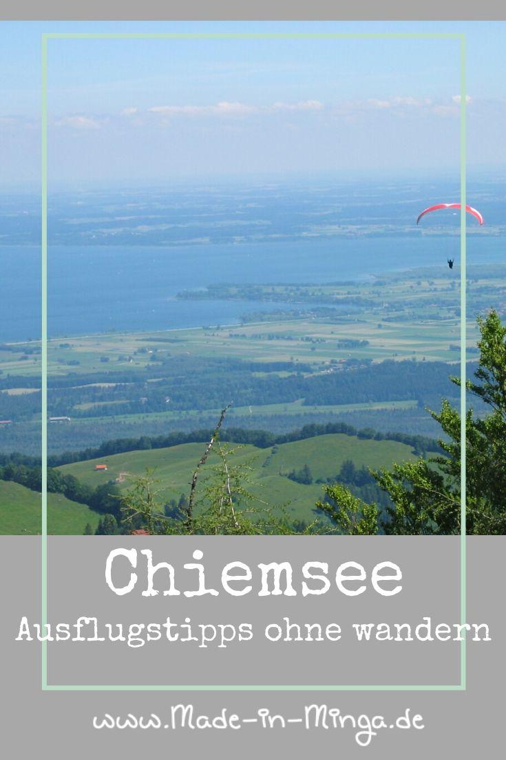 Ausflugstipps rund um den Chiemsee