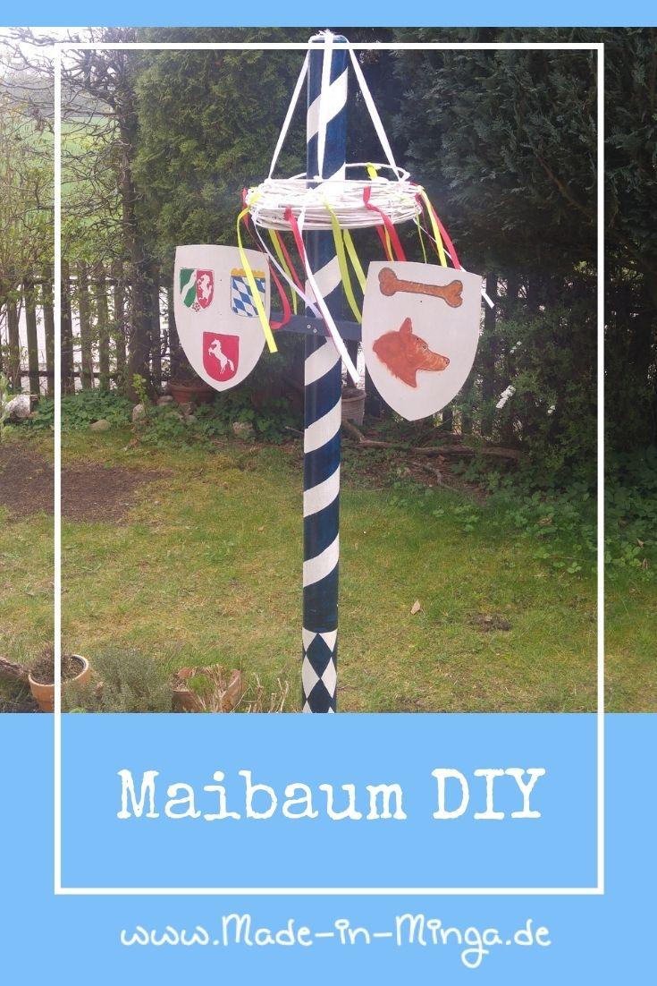 DIY fuer Maibaum im Garten